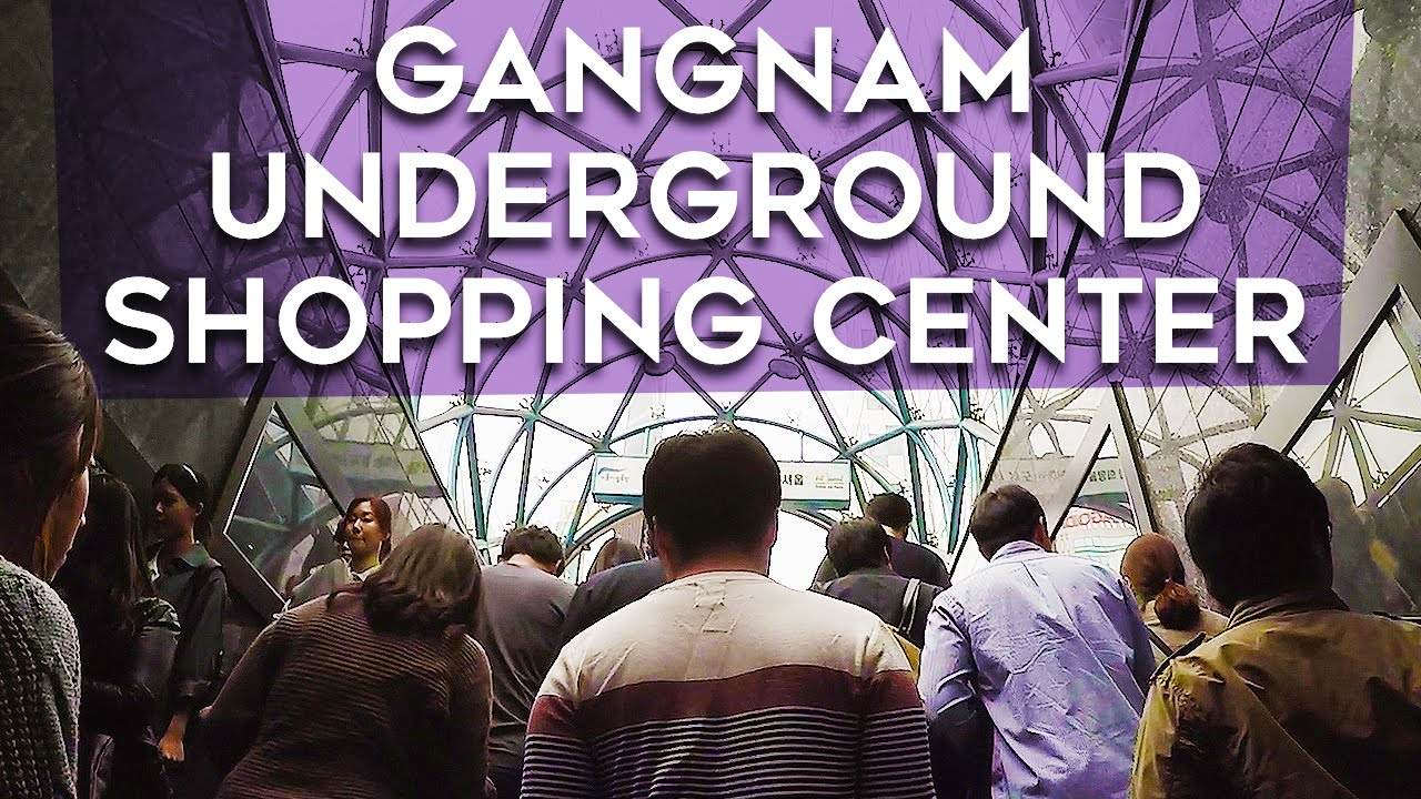 Gangnam Underground Shopping Center