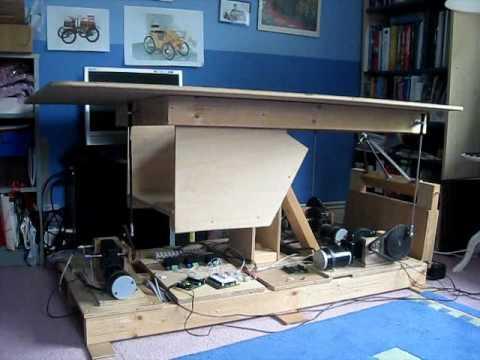 DIY Flight Simulator Mini Motion Platform  YouTube