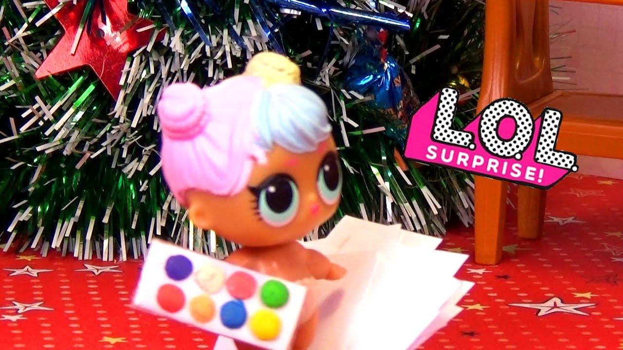 Подарок на Новый Год | Новогодний мультик с Куклами ЛОЛ ...
