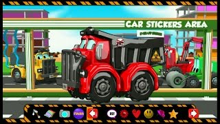 Dump Truck | Car Wash | Games For Toddlers