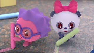 Малышарики | Сборник серий про уличные игры | Мультфильмы для детей