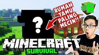 duo mecin build rumah tamu ter mewah dan ter mecin minecraft survival 6