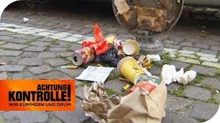 Pures Chaos: Zu viel Müll in der City! | Achtung Kontrolle | kabel eins