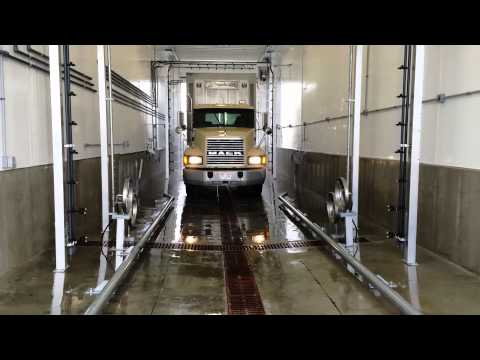 Touchless 2-Step Bio-Security Automatic Truck Wash - Clay Hog Hauler