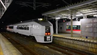 651系K205編成 足利大藤まつり号返却回送 いわき発車