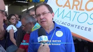 Convenção do PSDB e Pros - Carlos Matos