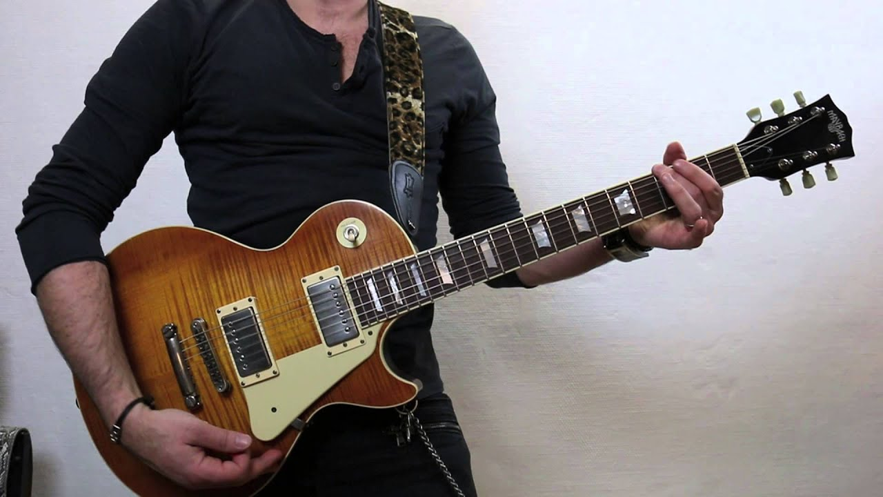 Maybach Lester 59 Slash Anastasia Guitar Cover Youtube