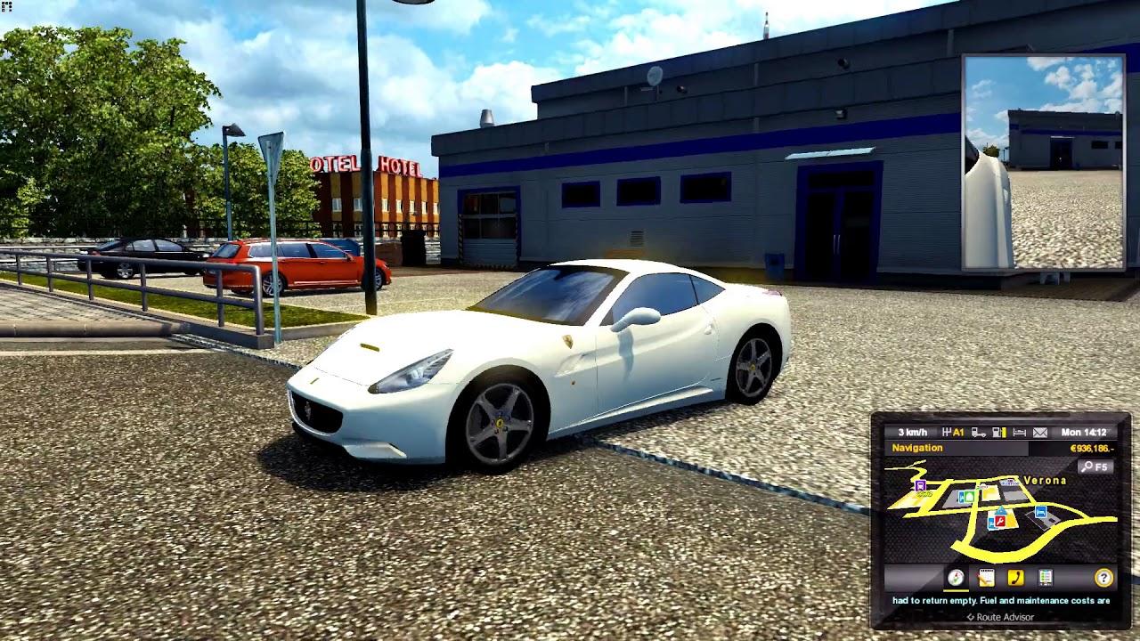 Ferrari California - Euro Truck Simulator 2 v1.28.1.3s ...