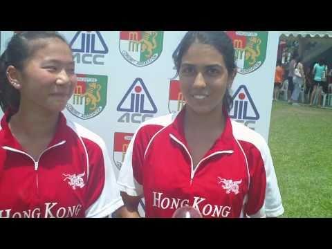 Hong Kong's Yasmin Daswani and Godiva Li: On Their Way to the ACC U-19 Women's semi-final