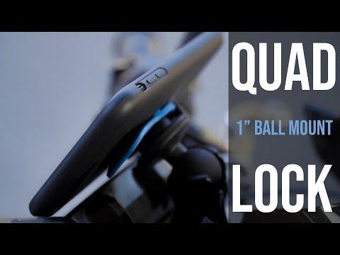 Quad Lock 1 Ball Adaptor Mount