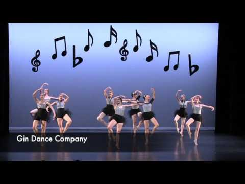 Gin Dance Company - 'That's Mozart' - Excerpt
