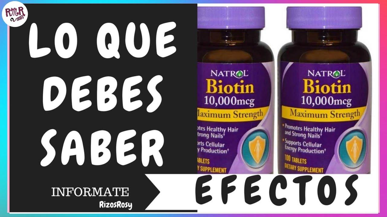 Biotina 1 Funciona Realmente Contraindicaciones Biotin For Hair