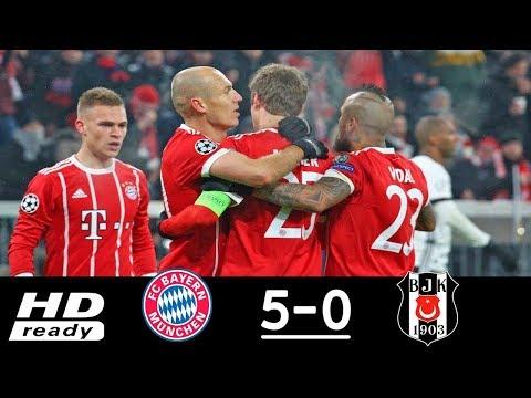 Bayern Munich vs. Besiktas (5-0) UEFA Champions League