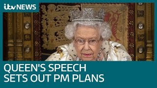 Queen's Speech sets out Boris Johnson's plan for post-Brexit Britain | ITV News