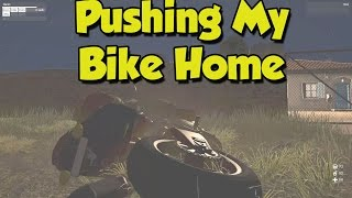 [Arma 3: Humanity - Orgobyte] Pushing My Bike Home After a Crash