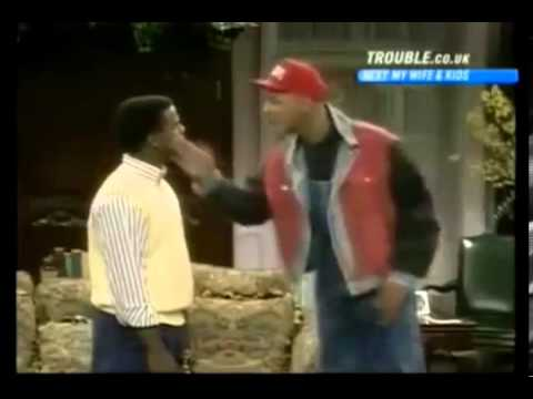 THE FRESH PRINCE OF BEL-AIR Season 1 Clip (Carlton Learns Ab