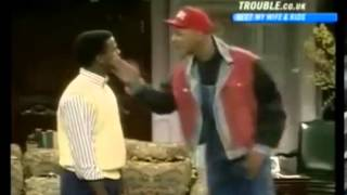 THE FRESH PRINCE OF BEL-AIR Season 1 Clip (Carlton Learns About Discrimination From Will)