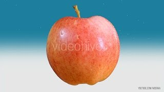 Gambar cover RED APPLE - Stock Footage PNG ALPHA