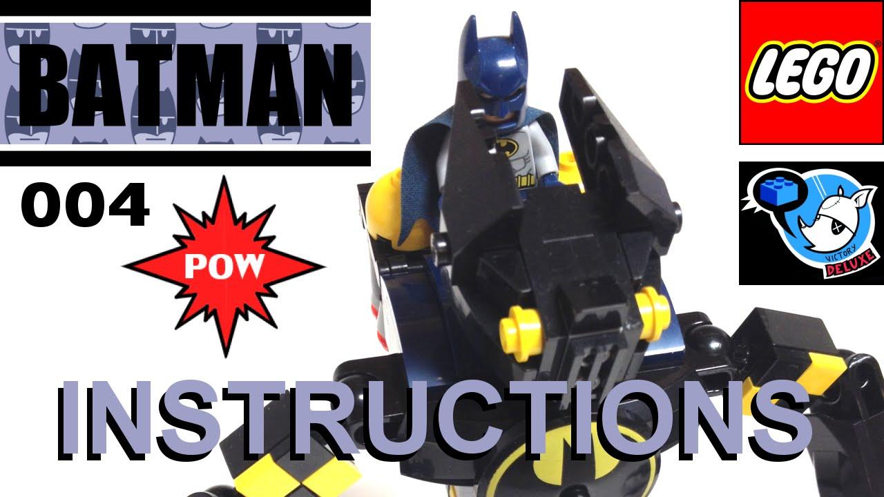 batman lego set instructions