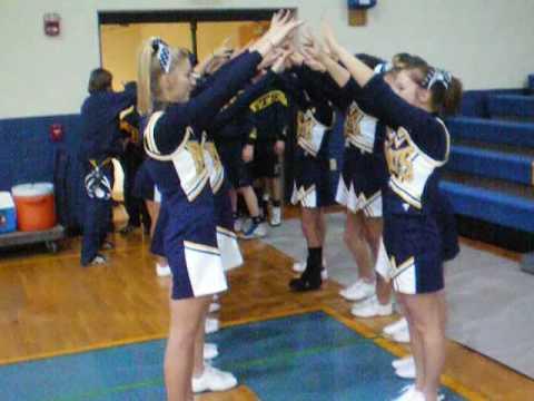 Littlestown Varsity Wrestling Cheerleaders 2008/2009