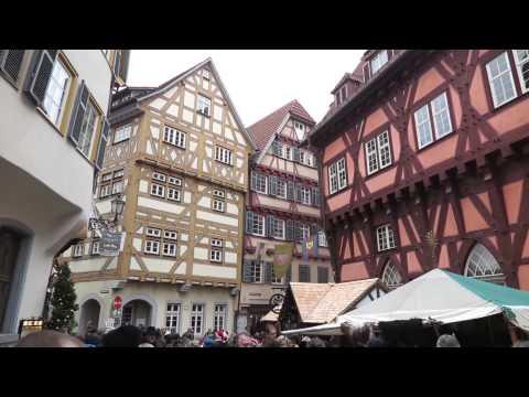 Mercado de Natal em Stuttgart e Esslingen
