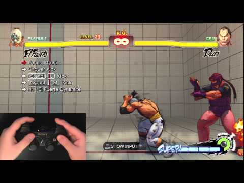 Super Street Fighter 4 Trials - Controller Pad