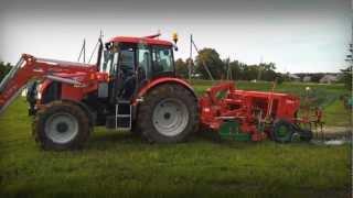 Powerful Zetor hydraulics