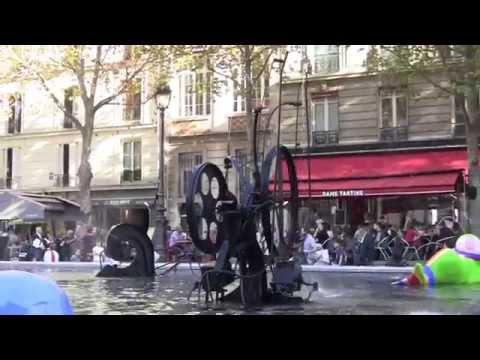 各地在法國巴黎市的景色。拍攝於2014年10月。