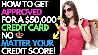 How I Got Approved For a $50k Credit Card With NO CREDIT CHECK Using This Cool Trick!
