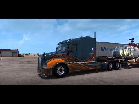 American Truck Simulator Tom Dooley's Enhanced Peterbilt 579
