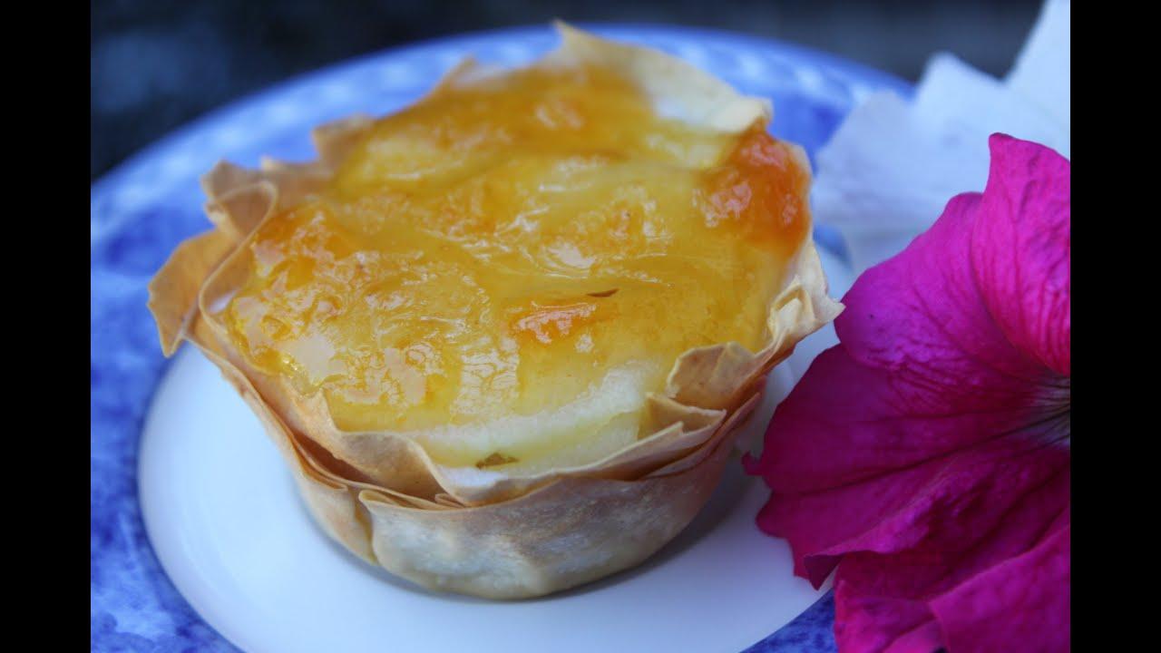 Tarta de manzana con queso crujiente y f cil youtube - Pure de castanas y manzana ...