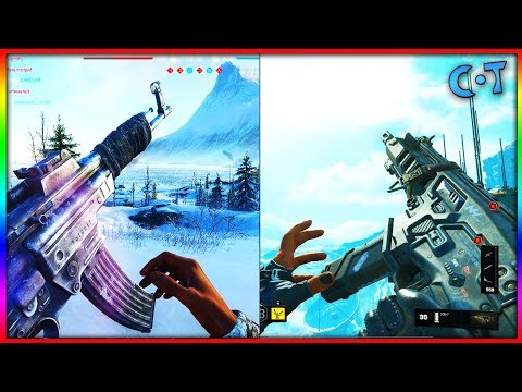 COD: Black Ops 4 vs Battlefield 5 Gameplay & Graphics (Future vs WW2)