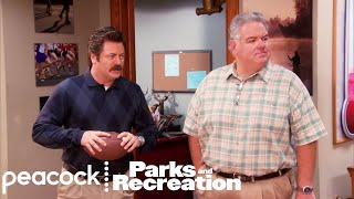 Ron Swanson Saves Tom's Swagger - Parks and Recreation
