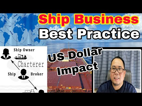 How to Get In to Business, the Ship  by Charterers and Brokers?🛳⚓️🏗🌾