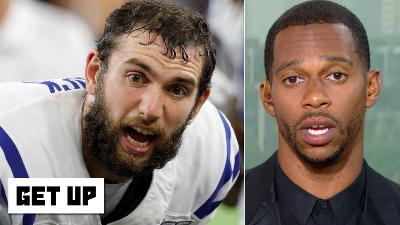 Andrew Luck's injury puts the Colts' Super Bowl hopes in jeopardy – Victor Cruz | Get Up