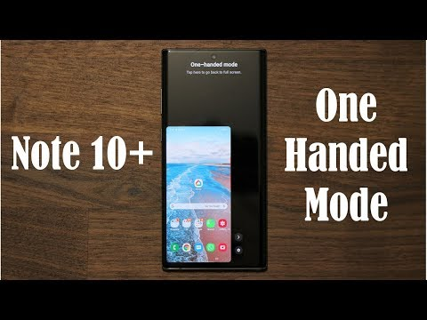 Galaxy Note 10 Plus - Activate One Handed Mode