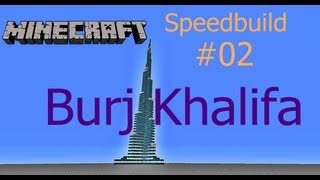Minecraft Speedbuild - Burj Khalifa [HD+] [16x] [Download]