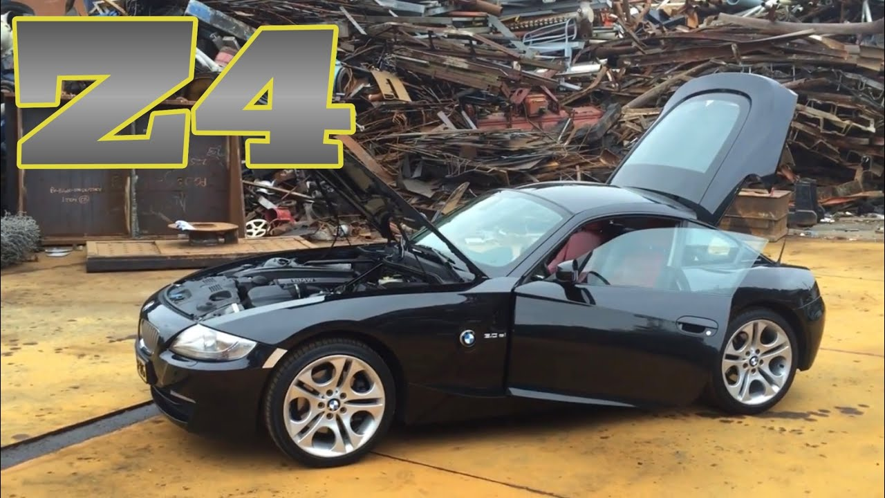 13 09 2015 Bmw Z4 Coupe 3 0si Black Schwarz 2007 E86 Walkaround 1 Youtube