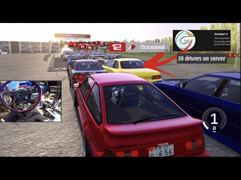 I Joined Goosiest Massive Tandem Lobby on Assetto Corsa! |