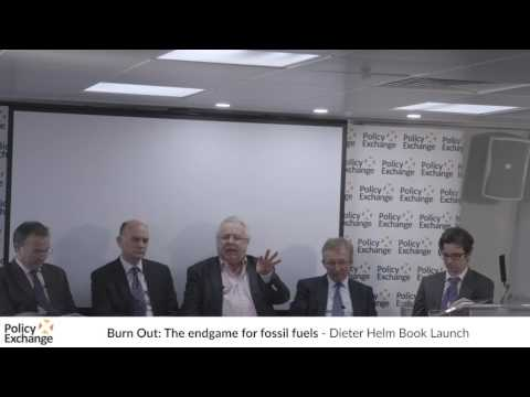 Burn Out: The endgame for fossil fuels - Dieter Helm Book Launch (panel discussion)