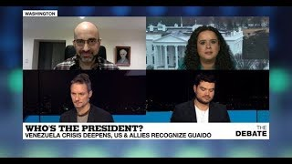 Who's the President? Venezuela crisis deepend, US & allies recognise Guaido