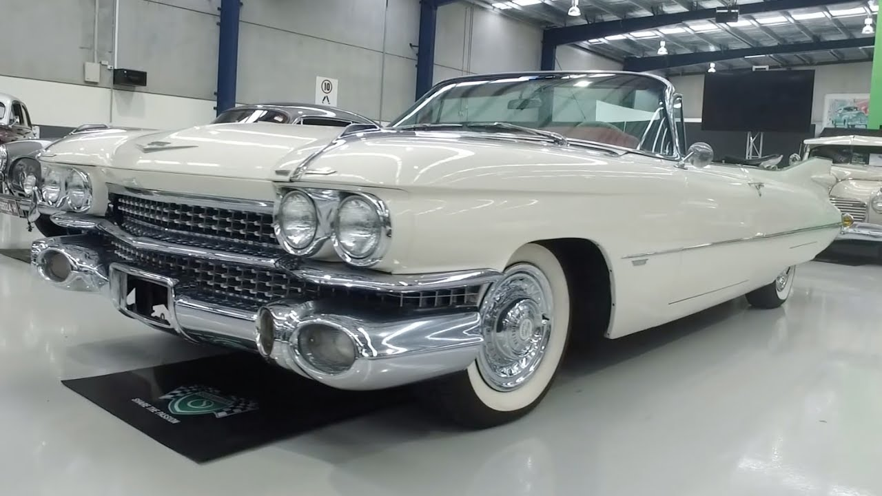 1959 Cadillac Series 62 Deville Convertible - 2017 Shannons Melbourne Winter Classic Auction