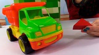 Развивающее видео для детей. Волшебная Коробка. Грузовичок и строительные блоки(Весёлая передача для детей от 2х лет. А вы знали, что у Маши есть волшебная коробка, в которой можно найти..., 2015-02-15T05:47:52.000Z)