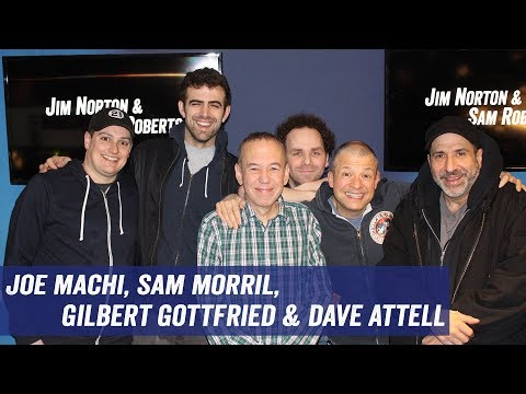 Joe Machi, Sam Morril, Gilbert Gottfried, Dave Attell - Getting Cut from Movies, Residuals