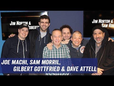 Joe Machi, Sam Morril, Gilbert Gottfried, Dave Attell - Getting Cut from Movies, Residuals