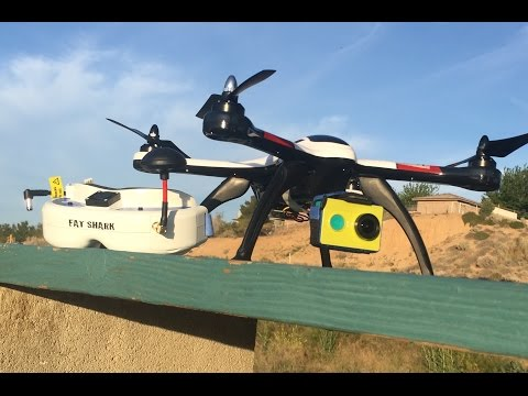 xk x350 Fat Shark Dom v3 Xiaomi Yi TS832 FPV Escape
