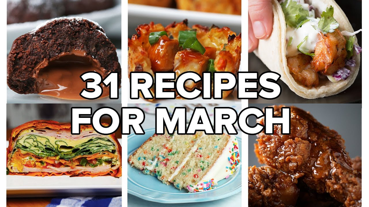 Download 31 Recipes For Every Day Of March • Tasty Recipes