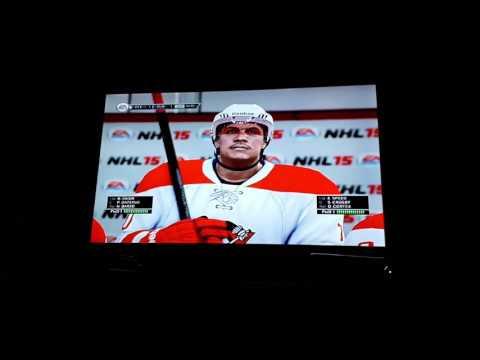 ZUG SPIDERS vs CLEVELAND COMMANDOS Redstar cupa 1. meccs NHL 15