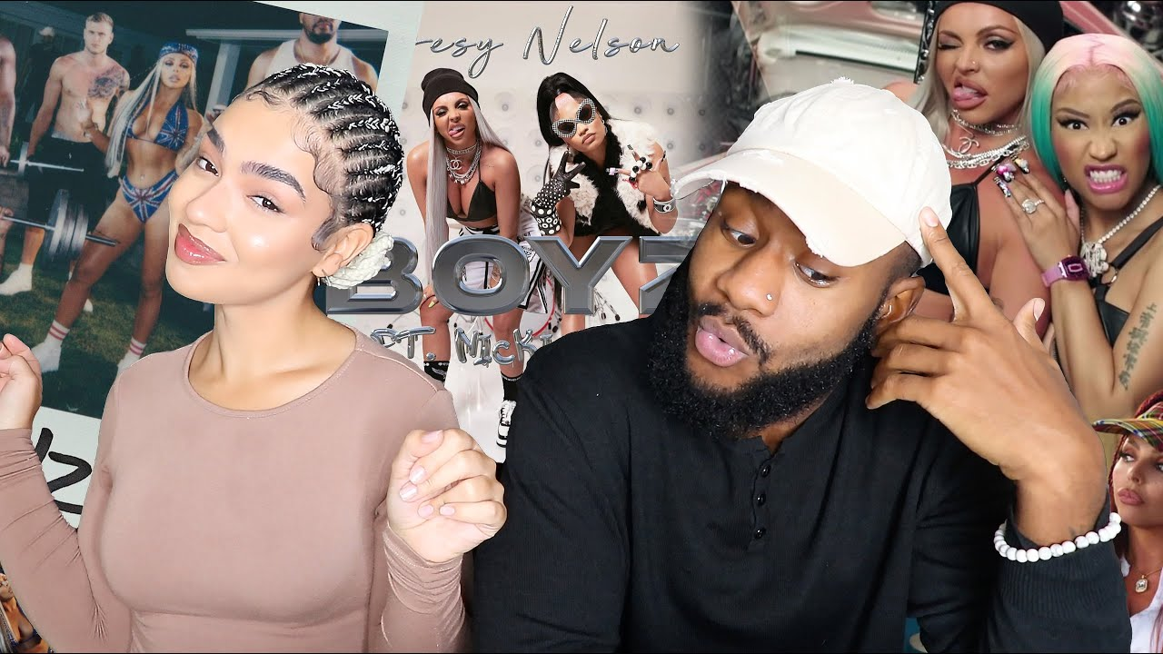 Download WHO IS JESY NELSON? 👀 | Jesy Nelson Ft. Nicki Minaj - Boyz (Official Music Video) [SIBLING REACTION]
