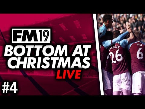 Football Manager 2019 | Burnley Live #4: Winable Games #FM19